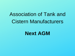 Image for News - Next ATCM AGM