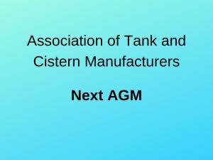 Image for News - Next ATCM AGM