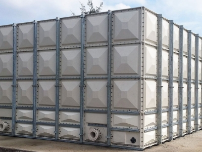 Image of Exterior cold water storage tank